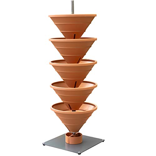 bluegreenshop.de Vertical Garden XL Terracotta –...