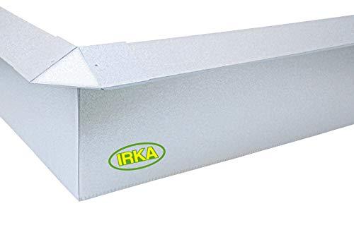 IRKA Schneckenzaun Typ2 Metall Set 10m + 4 Ecken |...
