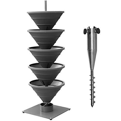 bluegreenshop.de Vertical Garden XL Turm-Hochbeet/Pflanzturm...