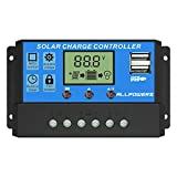 ALLPOWERS Solar-Ladegerät, 20 A, Controller,...