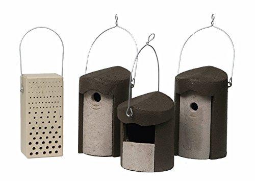 Schwegler Naturschutzprodukt Set I Balkon und Terrasse 4...