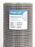 KrapTrap Volierendraht, Drahtgitter, 12.7 mm Masche, 100 cm...
