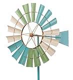 Metallwindrad - Kinetic Spinner 66cm - Coastal Windmill -...