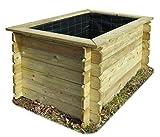 Gartenpirat Hochbeet 150x100 Holz 26 mm stark imprägniert...