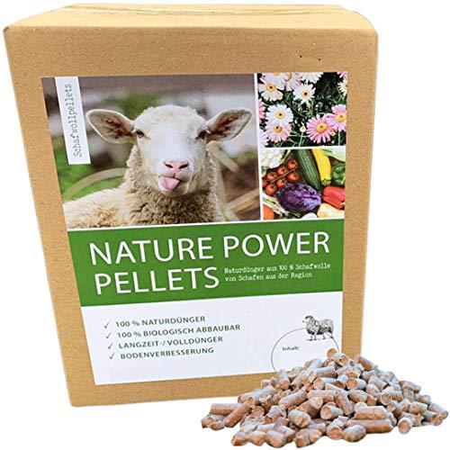 Nature Power Pellets 100% Schafwollpellets 5000g / 5kg...