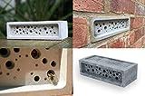 Bienenziegel, Nest, Hotel für Einzelbienen, Bienenkorb,...