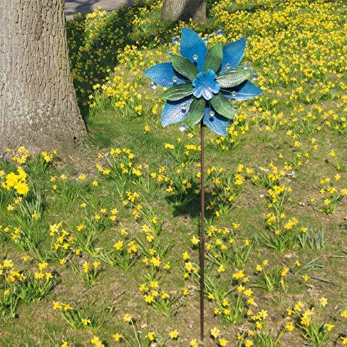 CIM Metall Windrad - Exotic Flower Hawaii - wetterfest,...