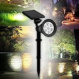 LED Solar Strahler Solarleuchte Beleuchtung Spotlight...