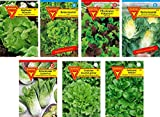 Frankonia-Samen / Samen-Sortiment / 7 Salatsorten /...