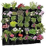 Garten 36 Taschen, vertikale Wandaufhängung, Pflanzgefäße...