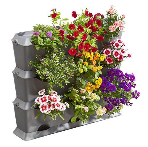 Gardena NatureUp! Basis Set Vertikal: Pflanzenwand zur...