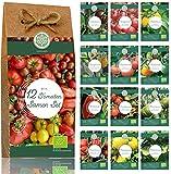 Bio Tomaten Samen Set – 12 Sorten samenfestes Tomaten...
