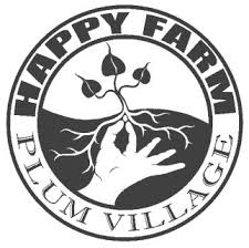 Happy Farm Plum Village Logo