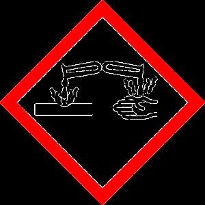 Kalkstickstoff Vorsicht aetzend Gefahr