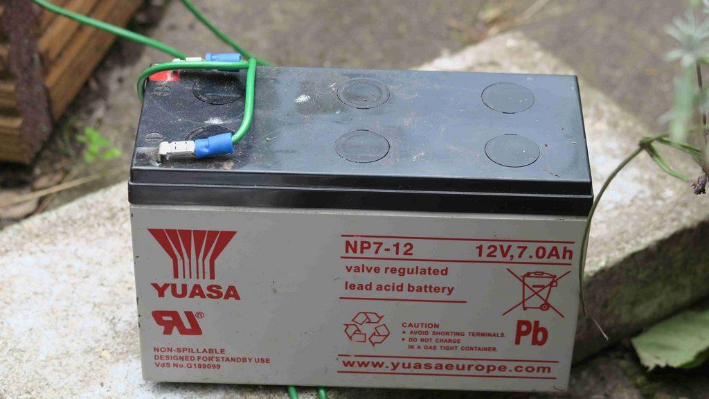 Batterie/Akku für Schneckenzaun