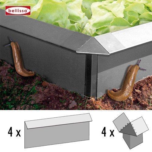 schneckenzaun ratgeber metall oder plastik produktwahl bis aufbau. Black Bedroom Furniture Sets. Home Design Ideas