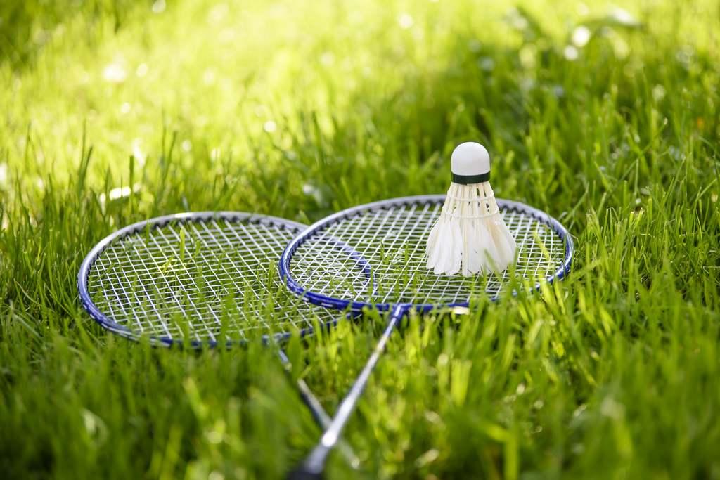 Badmintonsport stört den Maulwurf