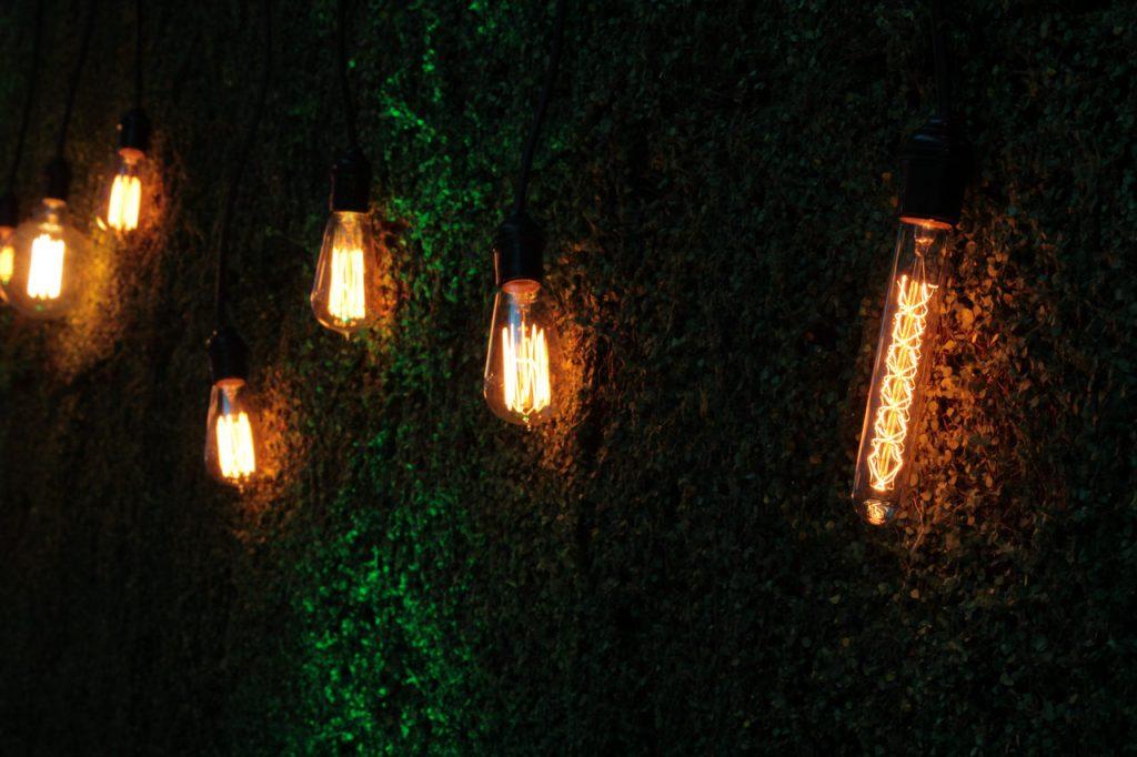 Lampen Garten Anbringung Technik