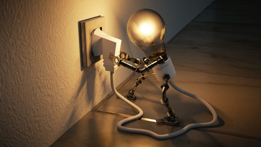 Licht Beleuchtung reduzieren minimieren
