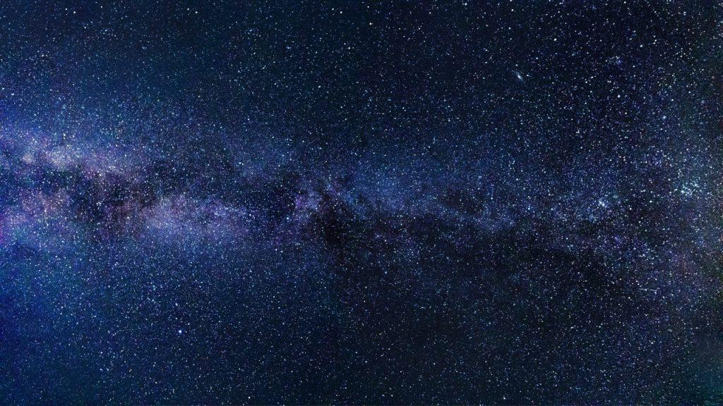 Nachthimmel Milchstraße
